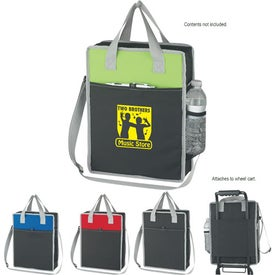 Customized Vertical Messenger/Tote Bag