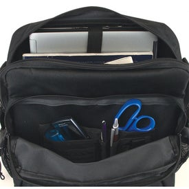 Advertising Vertical Design Computer Bag