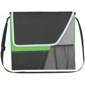 Vida Non-Woven Messenger Bag Imprinted with Your Logo