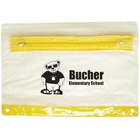 Vinyl School Pouch
