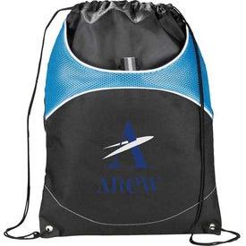 Monogrammed Vista Cinch Backpack
