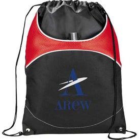 Imprinted Vista Cinch Backpack