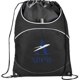 Logo Vista Cinch Backpack