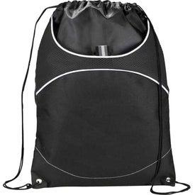 Printed Vista Cinch Backpack