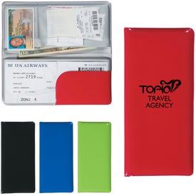 Voyager Travel Wallet with Your Slogan