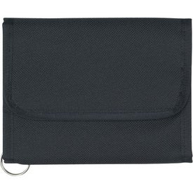 Promotional Wallet With Split Ring