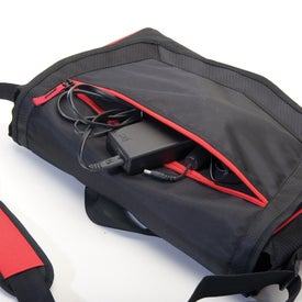 Wanderer Tech Messenger Bag with Your Logo