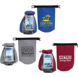 Waterproof Gear Bag with Touch-Thru Phone Pocket (2 Liter)