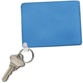 Imprinted Waterproof Pouch with Key Ring