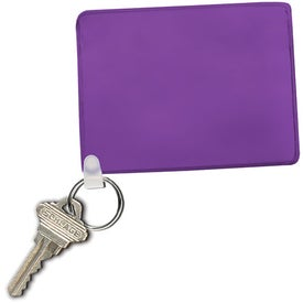 Branded Waterproof Pouch with Key Ring