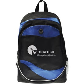 Personalized Wave Back Pack