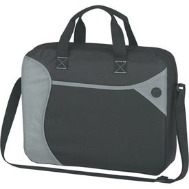 Wave Briefcase/Messenger Bag Branded with Your Logo