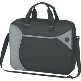 Wave Briefcase/Messenger Bag Branded with Your Logo