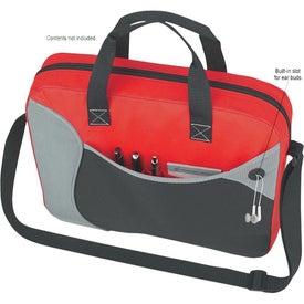 Wave Briefcase/Messenger Bag for Customization