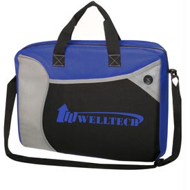 Wave Briefcase Messenger Bag