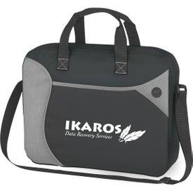 Wave Non-Woven Briefcase Messenger Bag