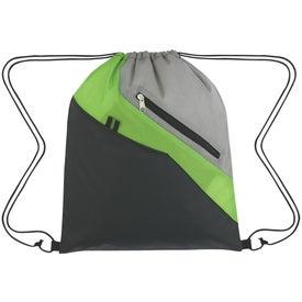 Monogrammed Waverly Drawstring Backpack