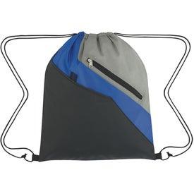 Personalized Waverly Drawstring Backpack
