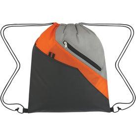 Imprinted Waverly Drawstring Backpack
