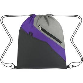 Promotional Waverly Drawstring Backpack