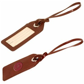 Webster Grommet Luggage Tag for Your Company