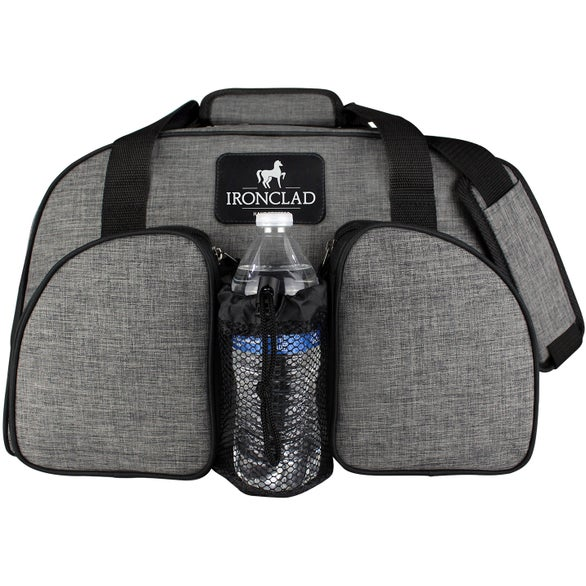 Gray Heather Weekender Duffel