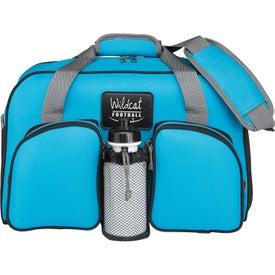 Personalized Polyester Weekender Duffel Bag