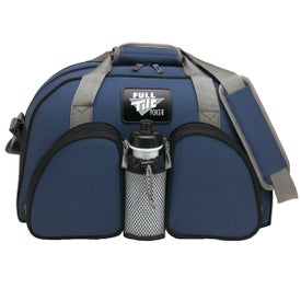 Polyester Weekender Duffel Bag for Advertising