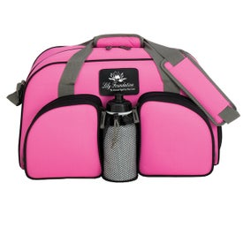 Personalized Weekender Duffel for your School