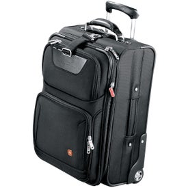 """Wenger 21"""" Wheeled Carry-On Imprinted with Your Logo"""