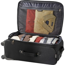 """Wenger 4-Wheel Spinner 24"""" Upright Luggage for Customization"""