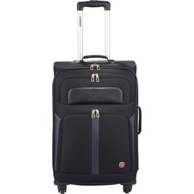 "Wenger 4-Wheel Spinner 24"" Upright Luggage with Your Logo"