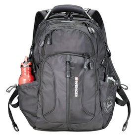 Custom Wenger Horizons Compu Backpack