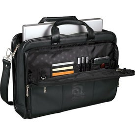 Wenger Leather Double Compartment Attache for Your Company