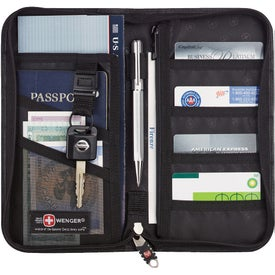 Promotional Wenger Leather Travel Wallet