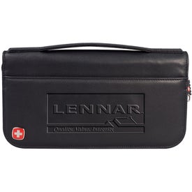 Wenger Leather Travel Wallet with Your Logo