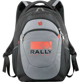 Customized Wenger Raise Compu-Backpack