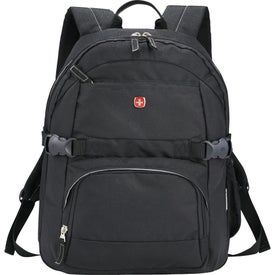 Imprinted Wenger Raven Compu-Backpack