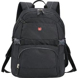 Imprinted Wenger Raven Compu-Backpack
