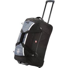 "Customized Wenger Shield 24"" Rolling Duffel"
