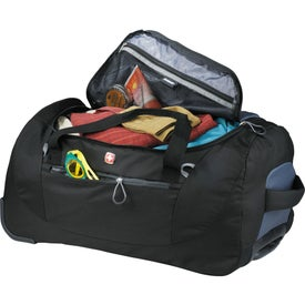 """Wenger Shield 24"""" Rolling Duffel Branded with Your Logo"""