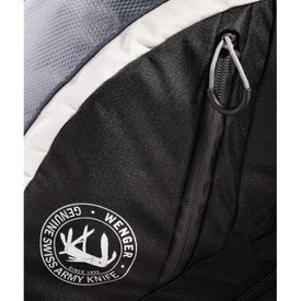 Wenger Shield Scan Smart Compu-Backpack with Your Slogan