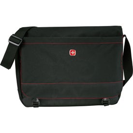 "Promotional Wenger Slim 15"" Compu-Messenger Bag"