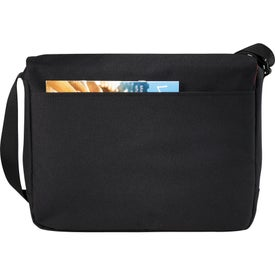 "Wenger Slim 15"" Compu-Messenger Bag Printed with Your Logo"