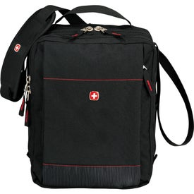 Imprinted Wenger Tablet Messenger Bag