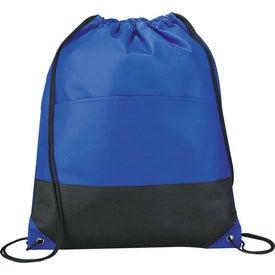 Monogrammed The West Coast Cinch Bag