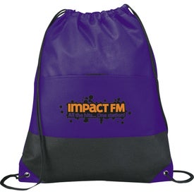 The West Coast Cinch Bag Branded with Your Logo