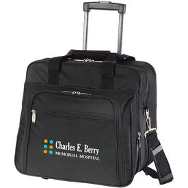 Personalized Wheeled Briefcase