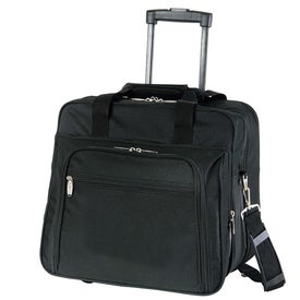 Monogrammed Wheeled Briefcase