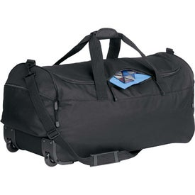 Branded Wheeled Duffel